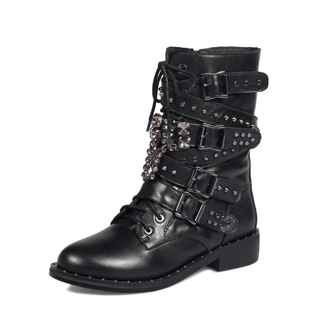 Agodor Black Women's Low Heels Flat